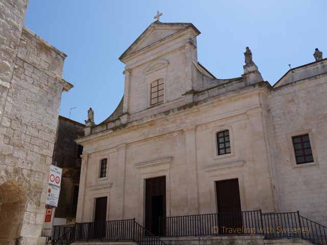 """Chiesa Madre di San Nicola di Patara (Cathedral Church of St. Nicholas of Patara) in Cisternino, Italy"""
