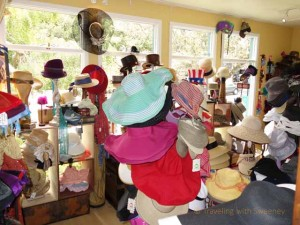 """The Hat Shop in Carmel-by-the-Sea, California"""
