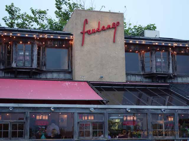 """Fandango restaurant near Carmel-by-the-Sea in Pacific Grove, California"""