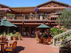 """Courtyard shops in Carmel, California"""