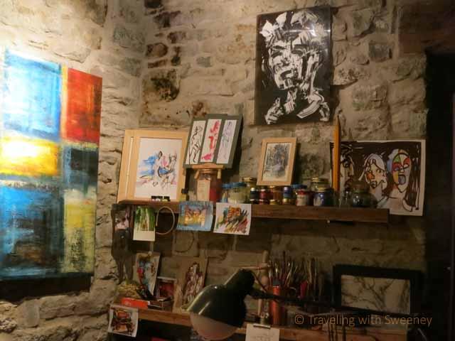 """""""Art gallery in Portico di Romagna, Italy"""""""