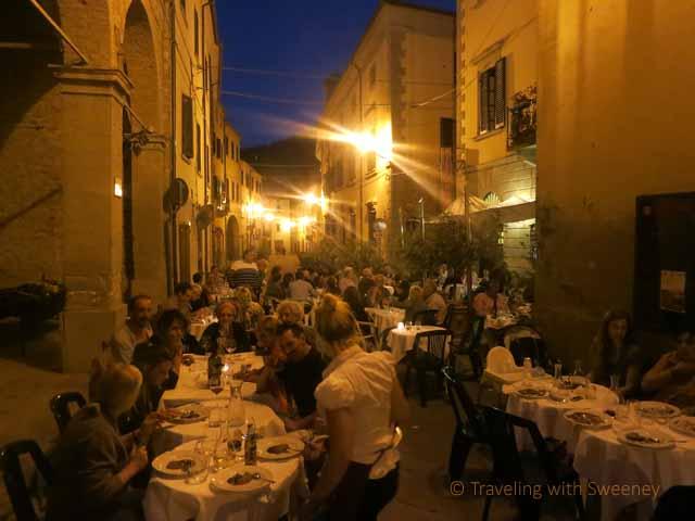 """""""Dinner on Via Roma, Portico di Romagna to celebrate Portico in Arte"""""""