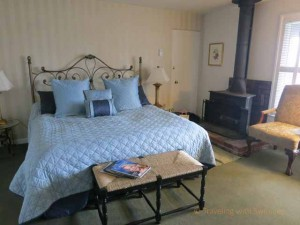 """Bedroom at Hofsas House, Carmel-by-the-Sea, California"""
