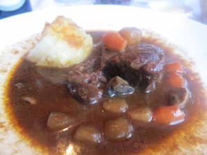 """Short ribs at Fandango in Pacific Grove, California near Carmel-by-the-Sea"""