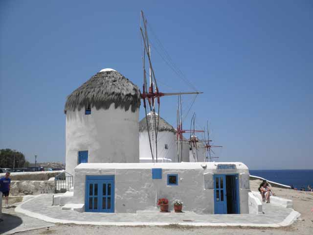"""Amazing windmills of Mykonos"""