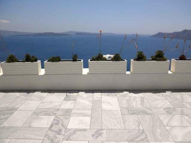 """""""Marble sidewalks of Oia in Santorini """""""