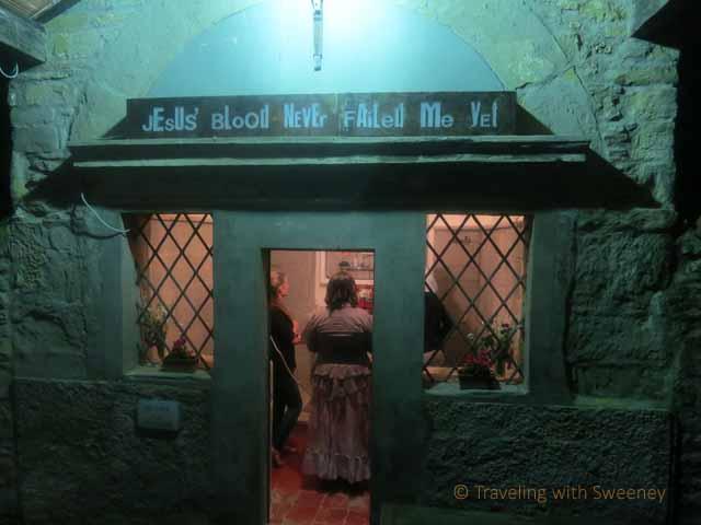"""""""Jesus' Blood Never Failed Me Yet, Luca Freschi at Oratorio delle Visitazioni, Portico di Romagna"""""""