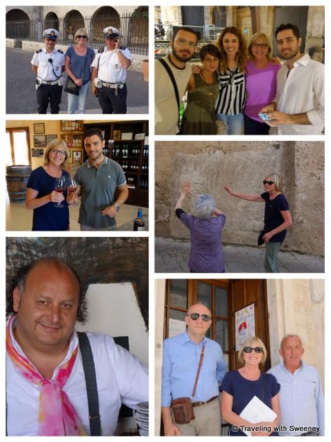 """""""Some of the nice people we met in Puglia"""""""
