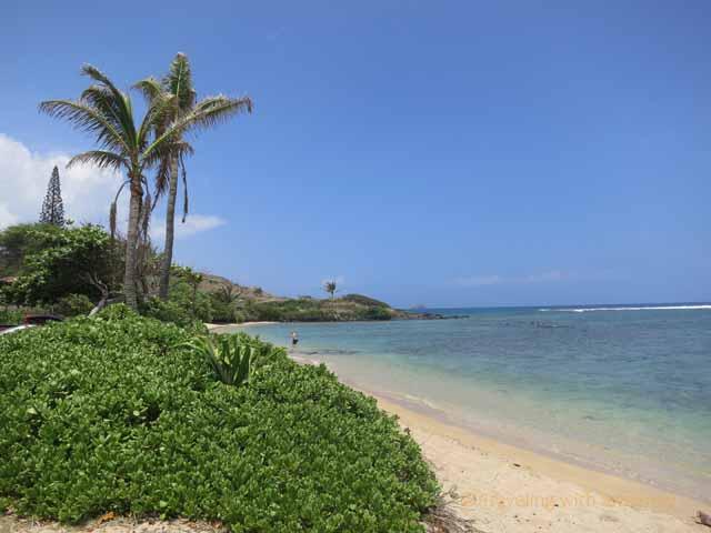 """""""Kumimi Beach on Molokai's east end"""""""