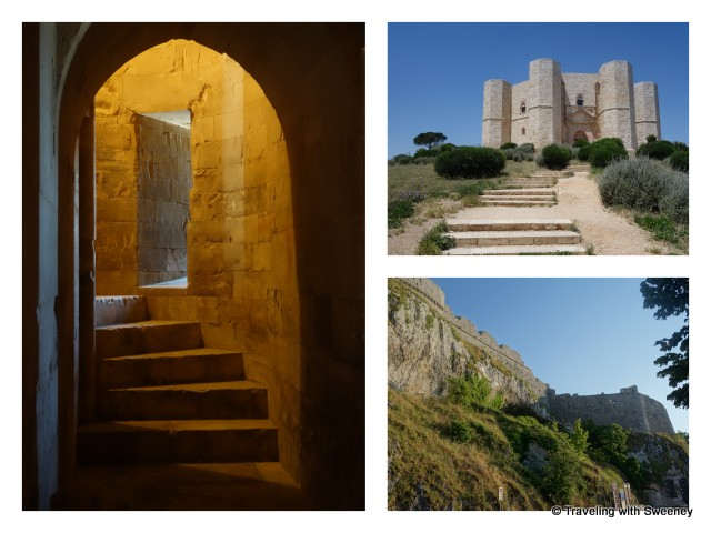 """Castles and fortresses of Puglia, Italy"""