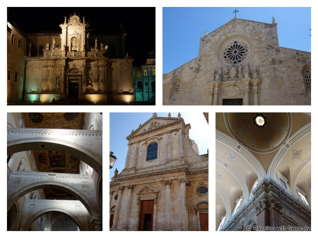 """""""Churches and cathedrals of Puglia, Italy"""""""""""