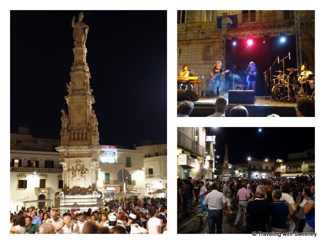 """""""Festival in Ostuni, Italy"""""""