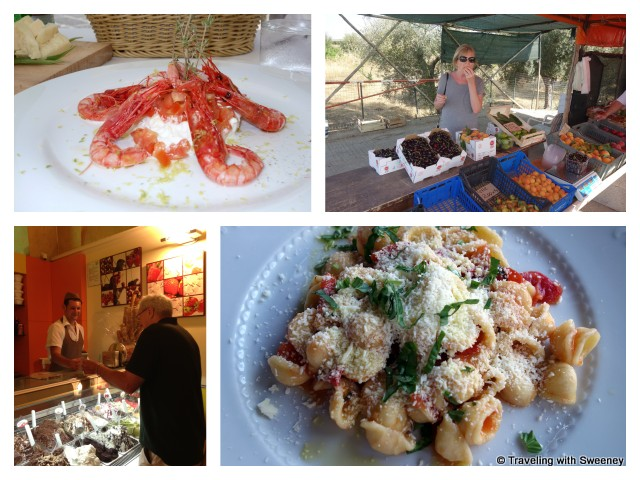"""Fresh and delicious food in Puglia"""""