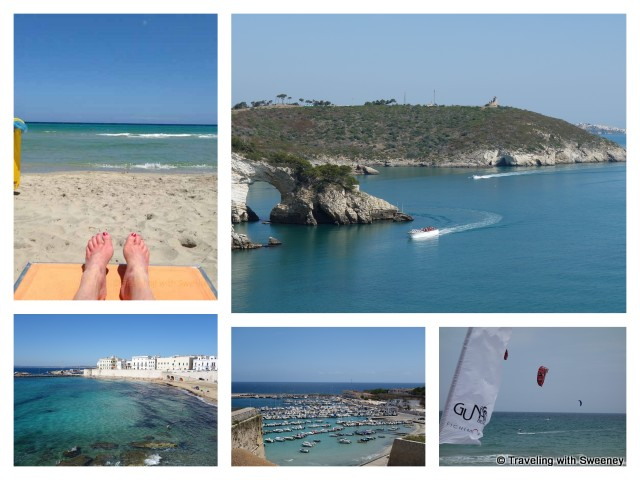 """Views of the sea in Puglia, Italy"""