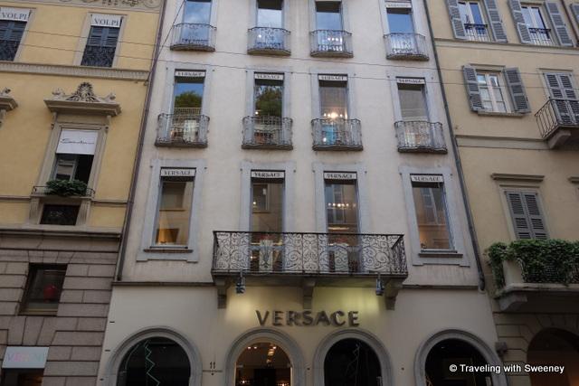 """""""Versace showroom, Milan"""""""