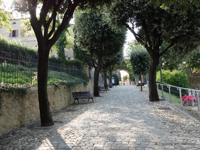 """""""Walkway to Bishop's Fortress, Bertinoro"""""""