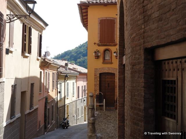"""""""Street scene in Bertinoro, Italy"""""""