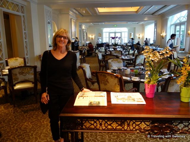 """Seasons Restaurant at the Four Seasons Hotel Dublin, Ireland"""