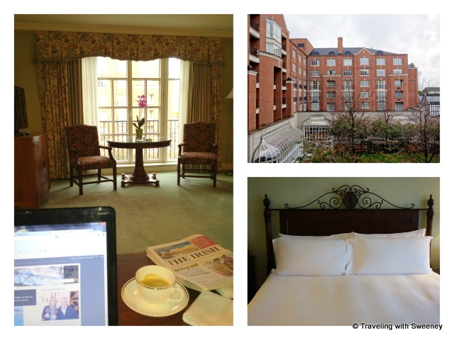 """""""Deluxe suite at Four Seasons Hotel Dublin, Ireland"""""""