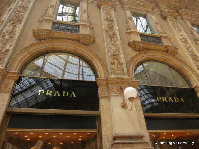 """""""Prada at Galleria Vittorio Emanuele II, Milan"""""""