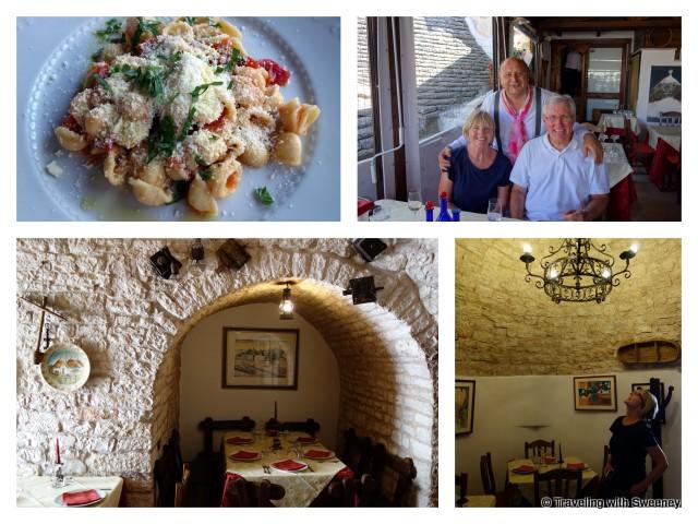 """""""L'Aratro Restaurant inside a trulli in Alberobello, Puglia, Italy"""""""