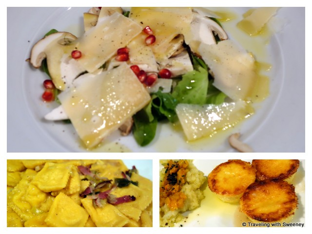 """Italian comfort food at Montepaolo in Dovadola, Italy"""