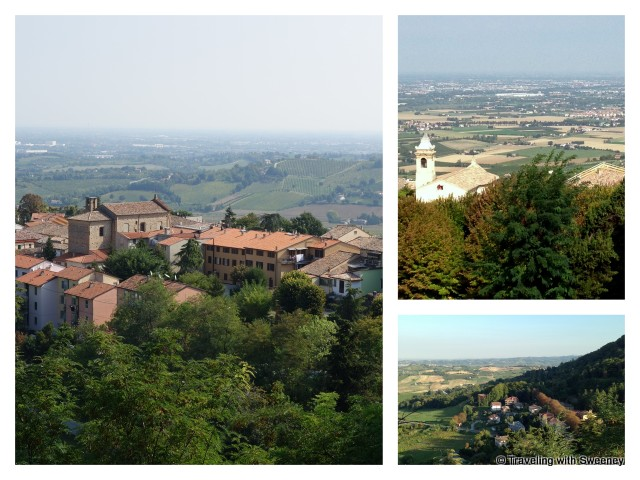 """Views of the countryside from Bertinoro, Itlay"""