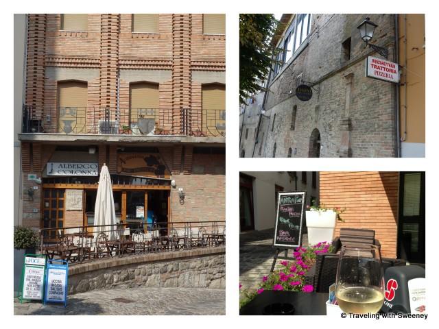 """""""Restaurants of Bertinoro, Italy"""""""