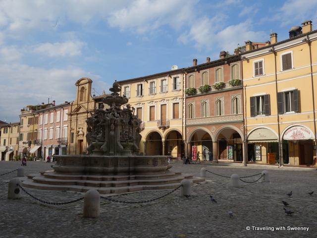 """""""Masini Fountain in Pizazza del Popolo, Cesena, Italy"""""""
