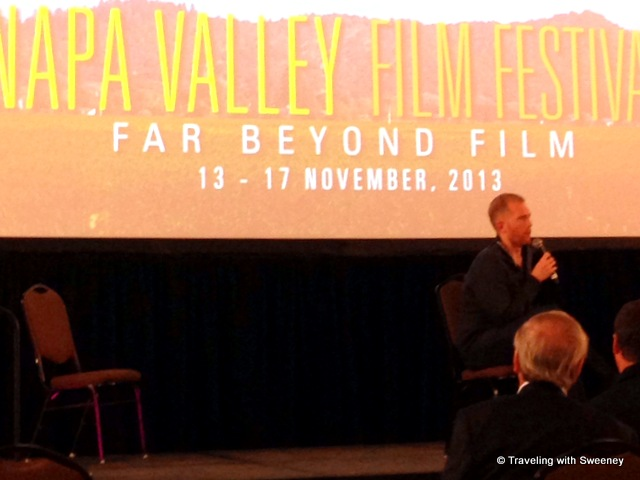 """Writer/Director William Savage answers audience questions about his film, In Lieu of Flowers at the Napa Valley Film Festival 2013"""