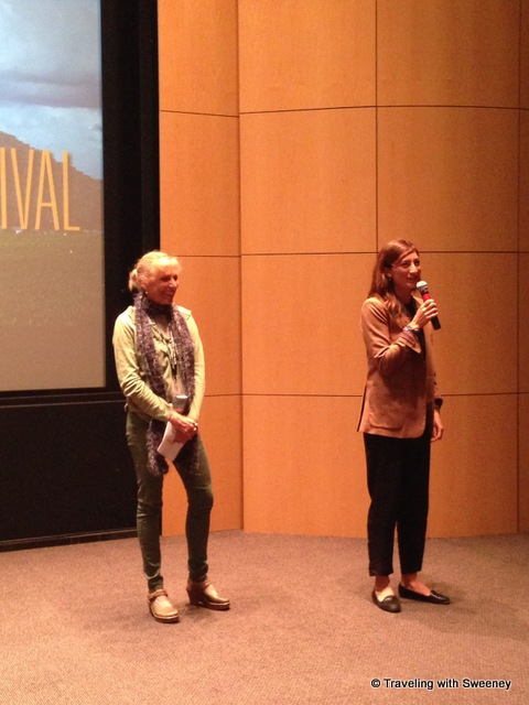 """March of the Living filmmaker Jessica Sanders takes questions at the Napa Valley Film Festival 2013"""
