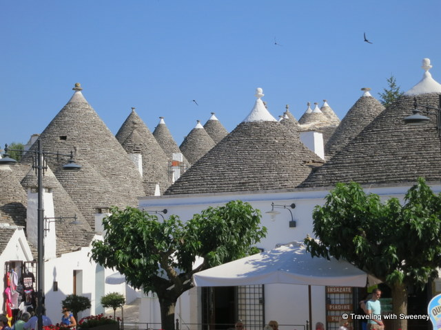 """Cozy trulli of Alberobello"""