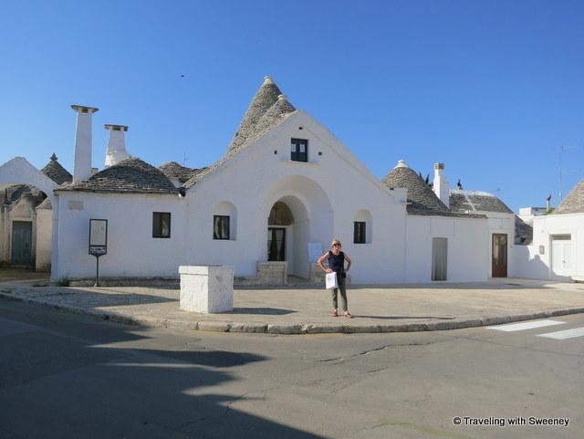 """""""Trullo Sovrano museum in Alberobello's Rione Aia Piccola area"""""""