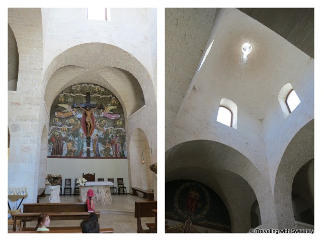 """Church of St. Anthony of Padua interior, Alberobello"""