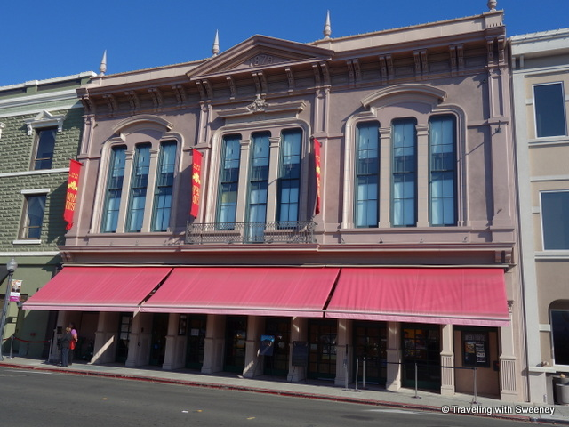 """Exterior of Napa Valley Opera House, screening venue of the Napa Valley Film Festival"""
