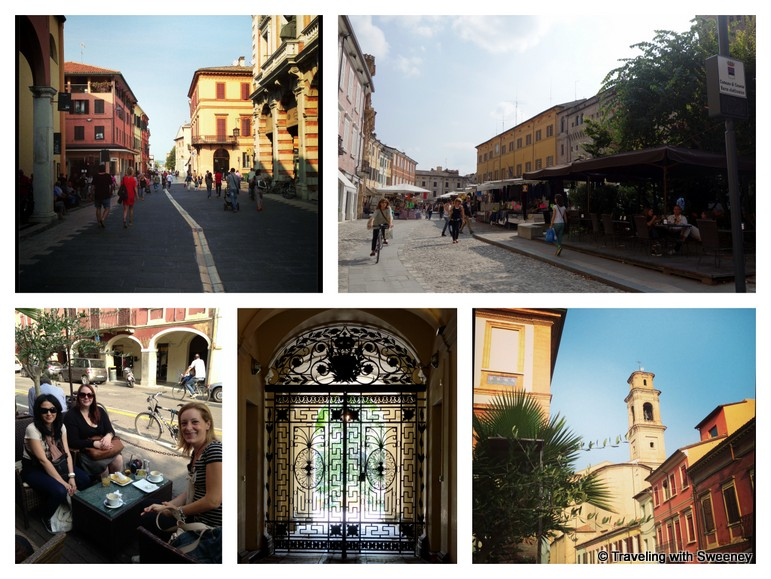 """Scenes of Cesena, Italy - in the cafe and strolling the streets"""