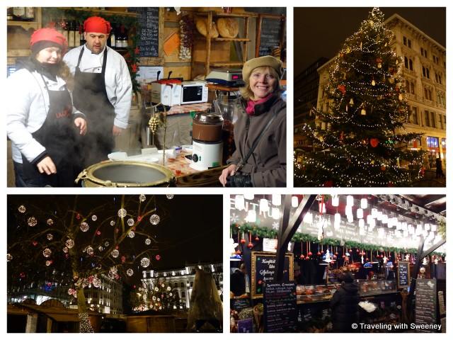 """""""Vorosmarty Christmas market, Budapest"""""""