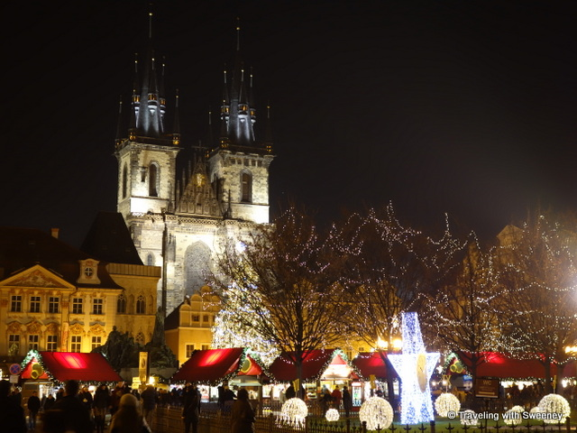 """""""Christmas market at Old Town Square in Prague"""""""