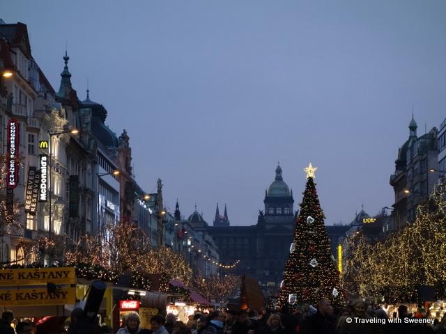 """""""Wenceslas Square Christmas market, Prague"""""""