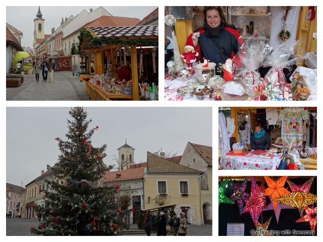 """""""Christmas market in Szentendre, Hungary"""""""