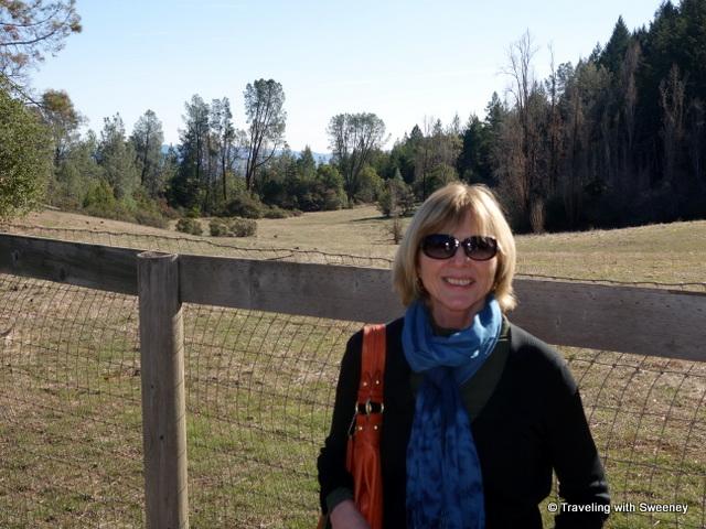"""The ""long meadow"" at Mayacamas Estate, Long Meadow Ranch"""