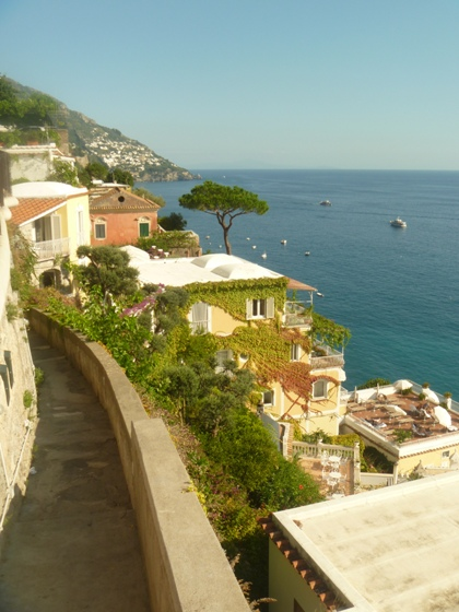 """Amazing Amalfi Coast of Italyon the Mediterranean Sea"""
