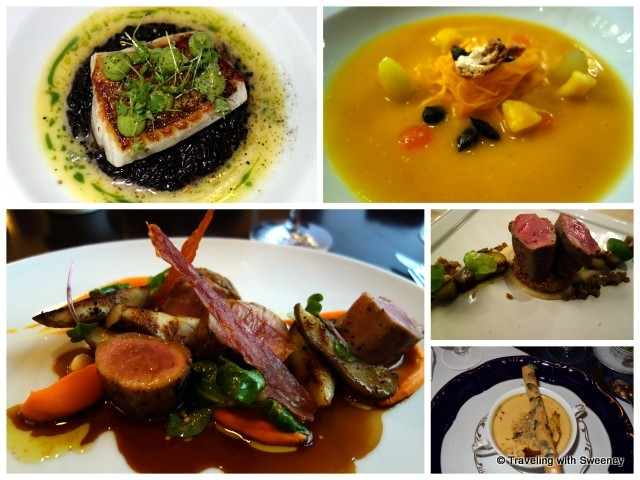 """Gourmet dishes in Budapest restaurants"""