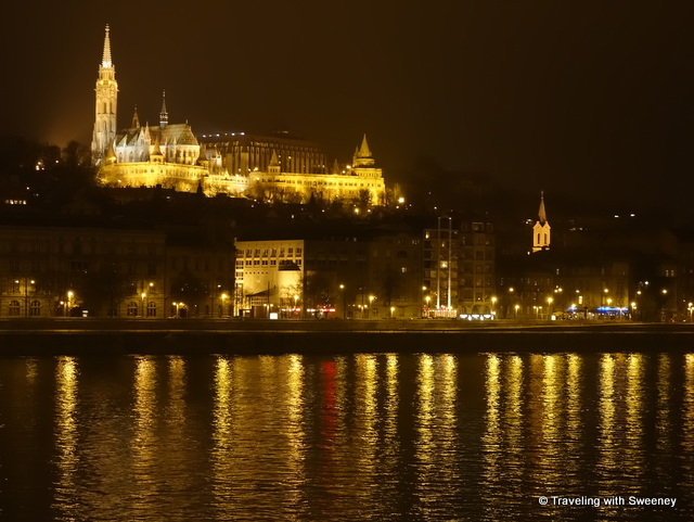 """St. Matthias Church on Castle Hill in Budapest"""