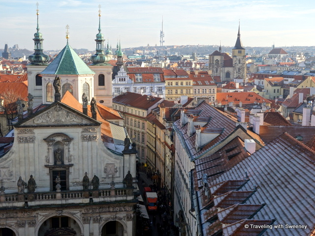 """Prague, often called the Golden City of 100 Spires"""