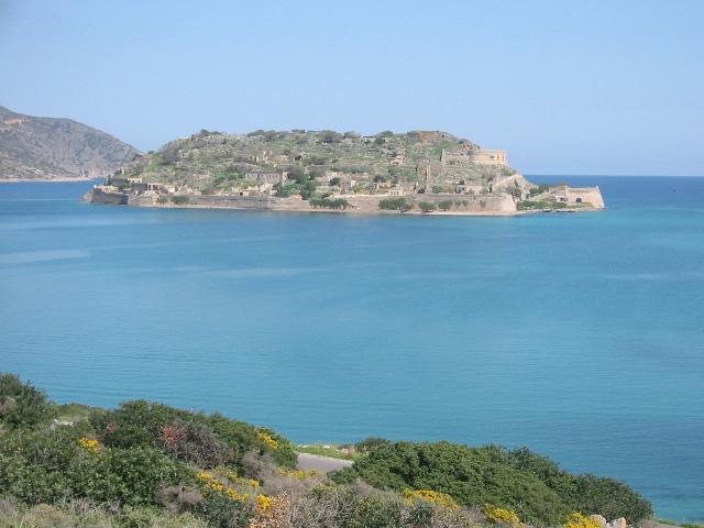 """Island of Spinalonga, Crete"""