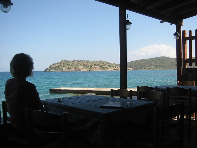 """""""Looking out at the onetime Venetian Battlement Spinalonga"""""""