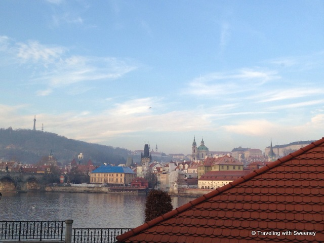 """View from CottoCrudo restaurant, Four Seasons Prague"""