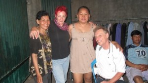 """Jody Hanson and friends in Cambodia"""