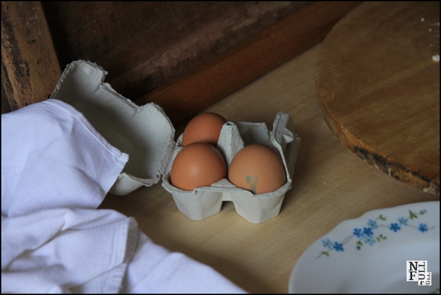 """""""Basic ingredient, eggs, for Italian cooking"""""""